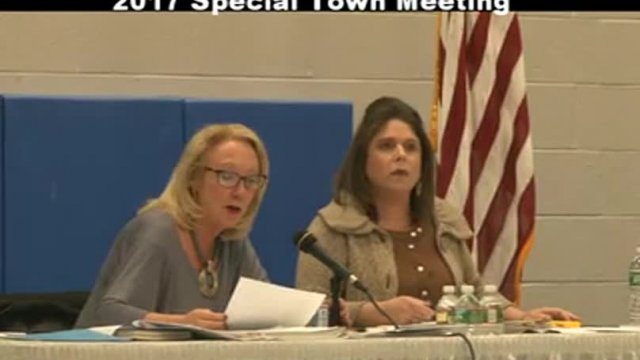 Special Town Meeting 2-28-17