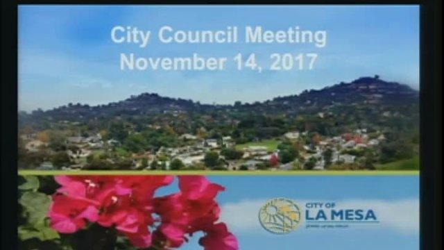 City Council Meeting 11-14-2017