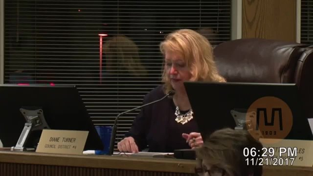 Council Meeting - November 21, 2017