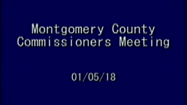 1/5/2018 Commissioner Meeting