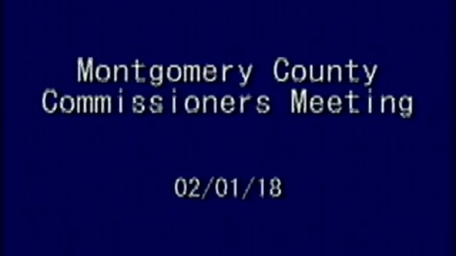 2/1/2018 Commissioner Meeting