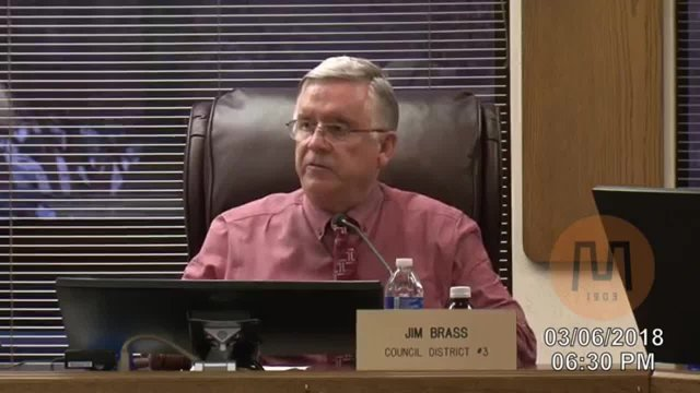 Council Meeting - March 6, 2018