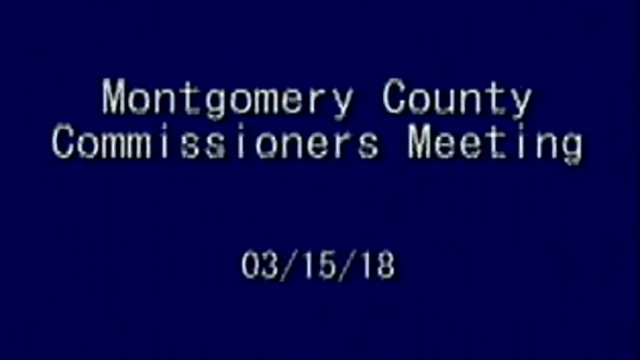 03/15/2018 Commissioners Meeting
