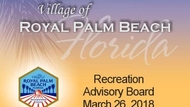 Recreation Advisory Board