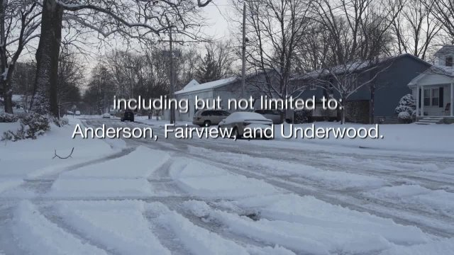 Snow Control and Snow Parking Ban