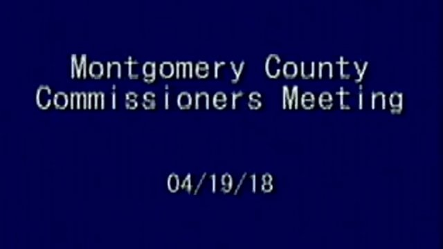 4/19/2018 Commissioner Meeting