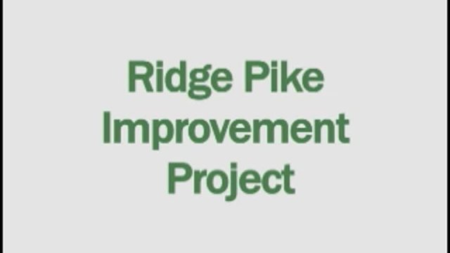 Ridge Pike 2 Meeting 4-23-2018