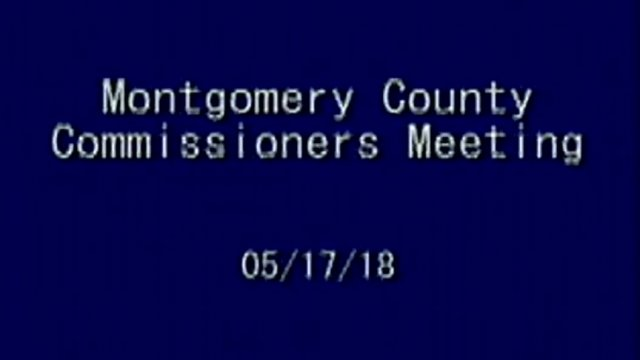 5/17/2018 Commissioner Meeting