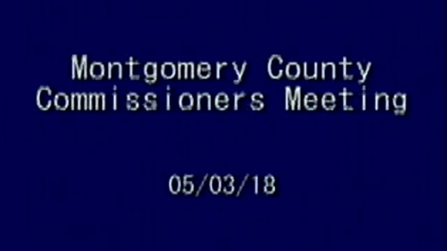 5/03/2018 Commissioner Meeting