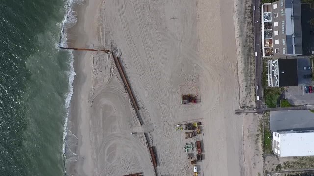 Flyover of Beach Replenishment 6-15-2018