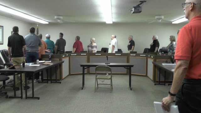 July 23, 2018 City Council Meeting