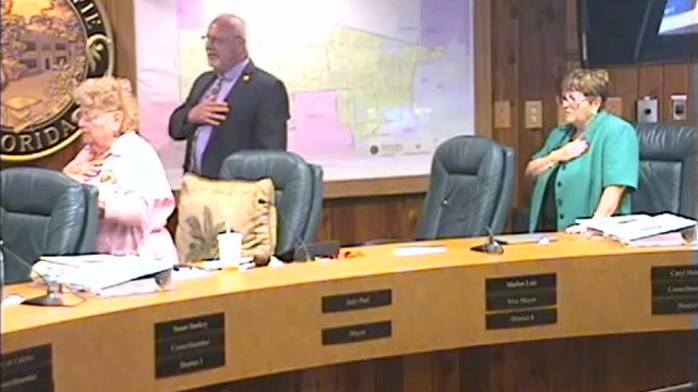 January 4 2017 Town Council Meeting