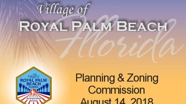 Planning and Zoning - August 14, 2018