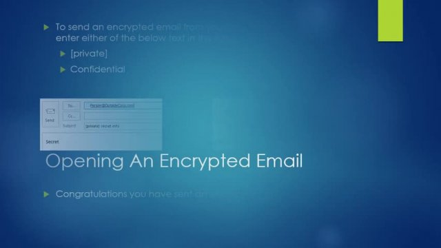 How to Send and Receive Encrypted Emails