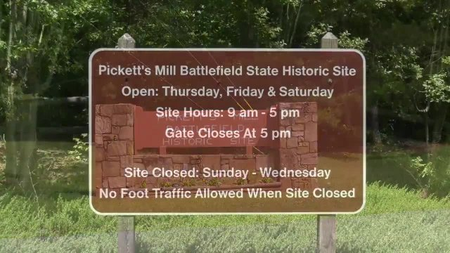 Exploring Pickett's Mill Battlefield Historic Site