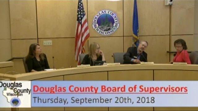 September 20, 2018 County Board