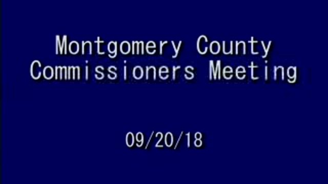 9/20/2018 Commissioners Meeting