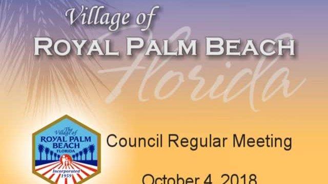 Council Meeting - October 4, 2018