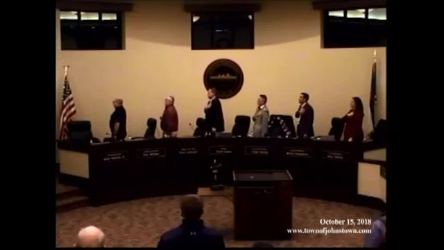 October 15, 2018 Council Meeting