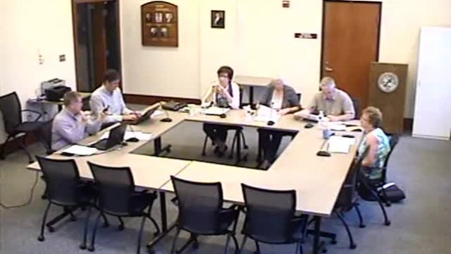 10-9-2018 Finance Committee Meeting