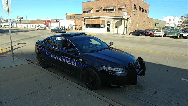 This is the Brookings Police Department