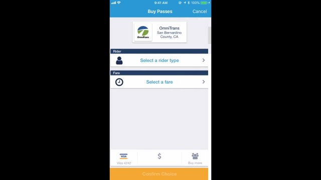 Buying and Using Bus Passes on Token Transit