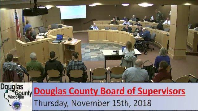 November 15, 2018 County Board