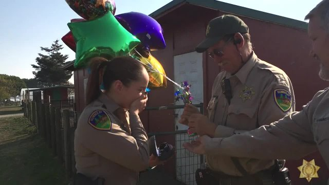 Correctional Deputy sees color for the first time