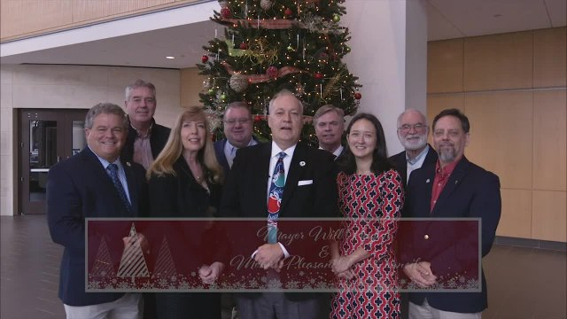 Mount Pleasant Town Council Holiday Greeting - '18