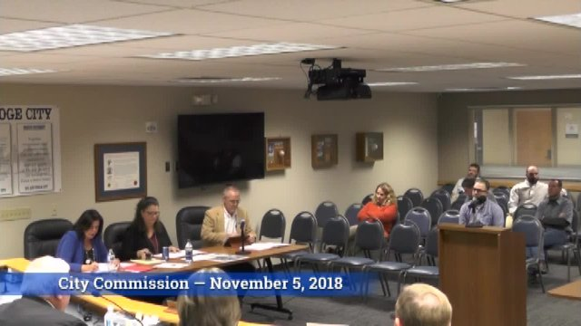 City Commission - Nov. 5, 2018