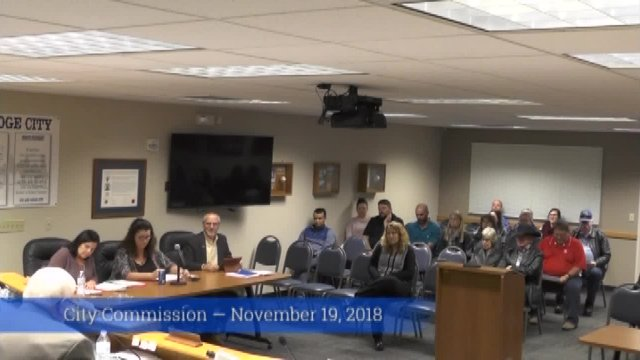 City Commission - Nov. 19, 2018