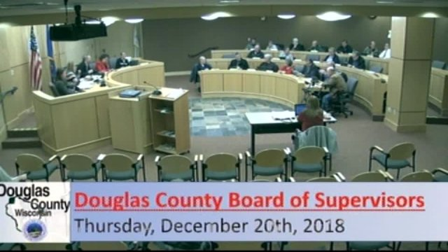 December 20, 2018 County Board