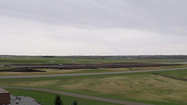 Bismarck Airport 2018 Runway Time Lapse