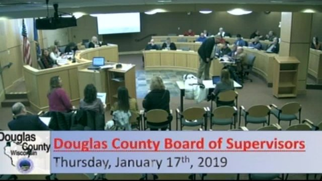 January 17, 2019 County Board
