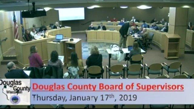 January 17, 2019 County Board