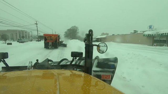 Highway Department - Daytime Snow Plow Run