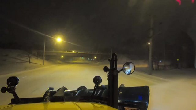 Highway Dept. - Evening Snow Plow Run