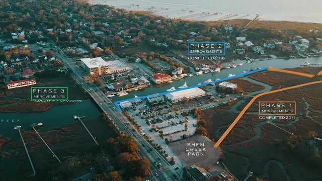 Shem Creek Park Phase 3 Improvements