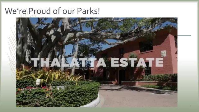 2019 Parks Master Plan Update Presentation- Coral