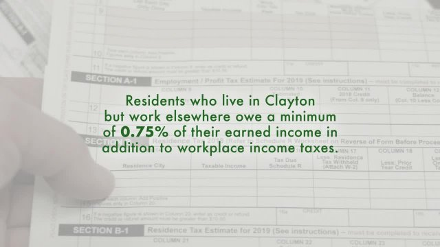 Clayton Earned Income Tax