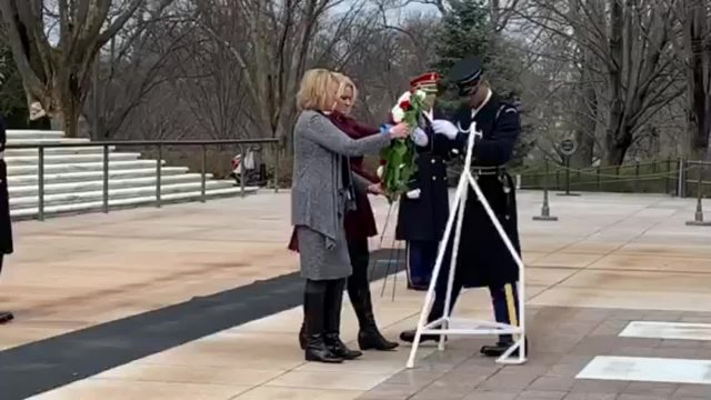 2019 AACo Officers - Tomb of the Unknown Soldier