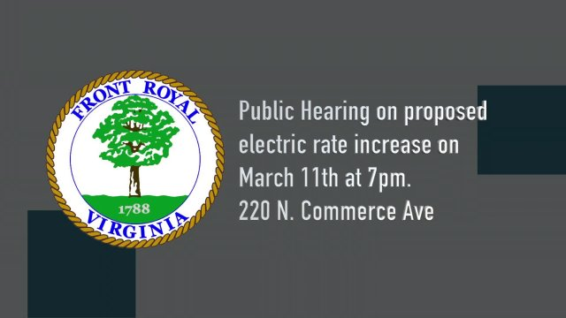 Energy Services - Electric Rate Hearing