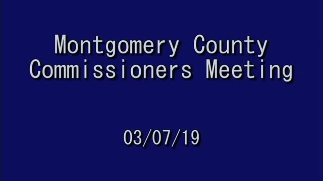 3/7/2019 Commissioners Meeting