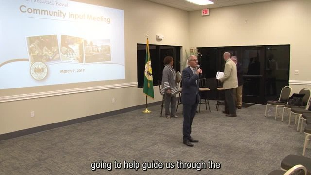 3-07-19 City Facility Bond Community Meeting
