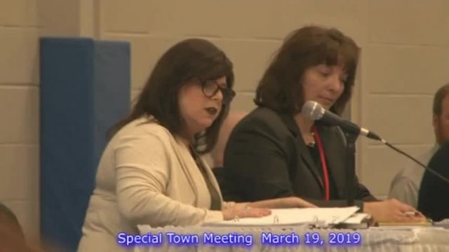 Special Town Meeting 3-19-19