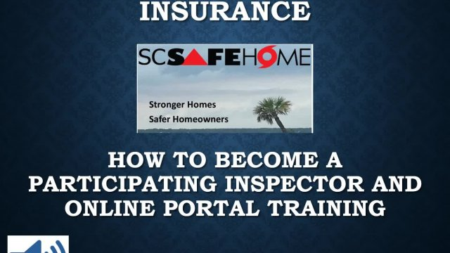 SC SafeHome Inspector Training
