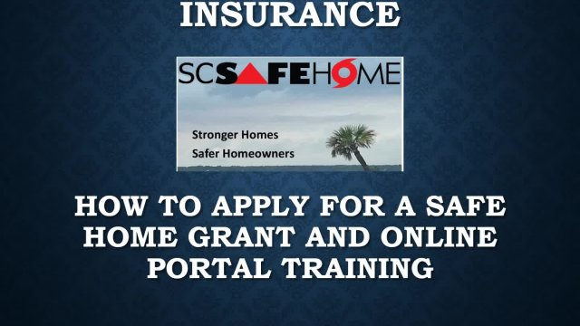 SC SafeHome Homeowner's Training