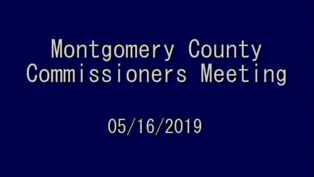 05/16/2019 Commissioners Meeting