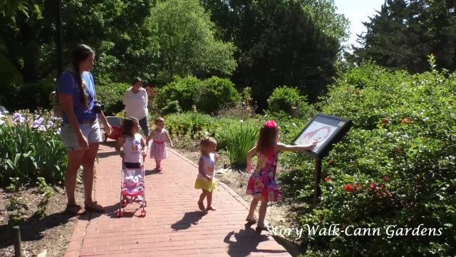 Storywalk at Cann Garden