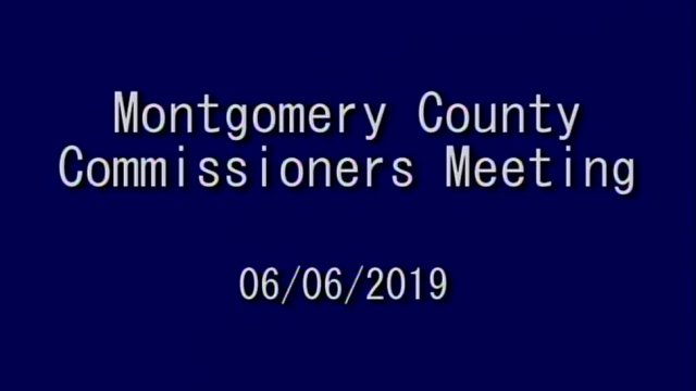06/06/2019 Commissioners meeting